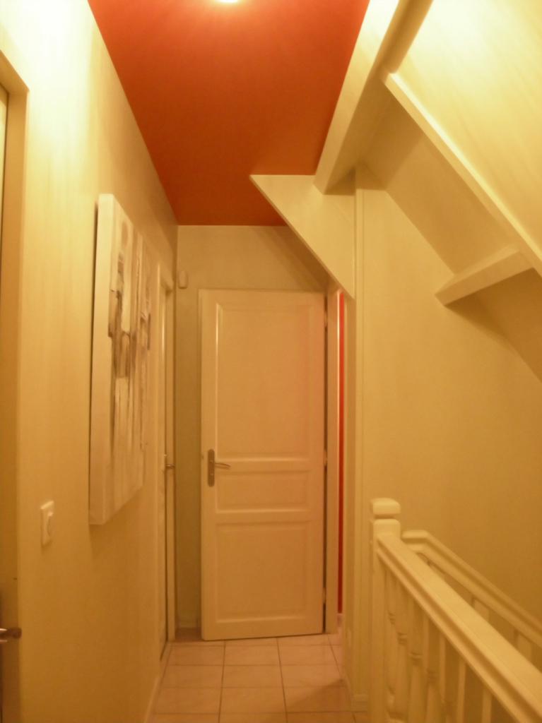D coration de l 39 int rieur et l 39 ext rieur d 39 un pavillon for Cage escalier exterieur
